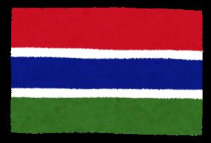 国旗_ガンビア