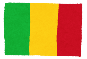 国旗_マリ