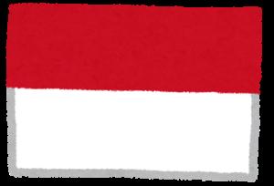 国旗_インドネシア