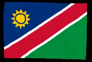 国旗_ナミビア