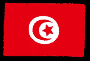 国旗_チュニジア