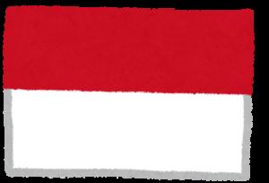 国旗_モナコ