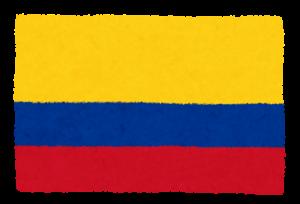 国旗_コロンビア
