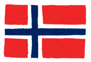 国旗_ノルウェー