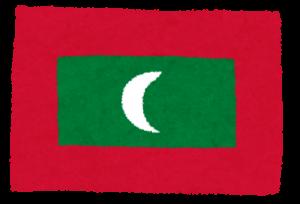 国旗_モルジブ