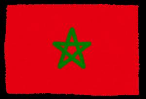 国旗_モロッコ