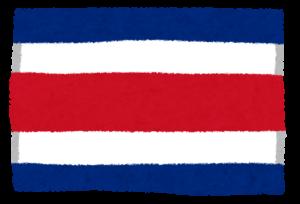 国旗_コスタリカ