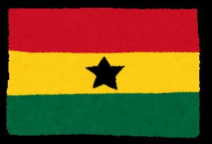 国旗_ガーナ