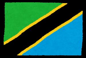 国旗_タンザニア