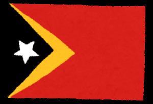 国旗_東ティモール